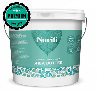 1KG Organic Shea Butter Unrefined - 100% Pure, Raw & Natural - Soil...