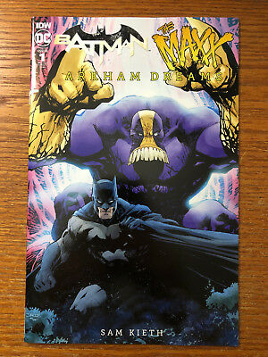 Batman The Maxx Arkham Dreams #1 Jim Lee 1:25 Variant IDW DC Comics 2018 NM