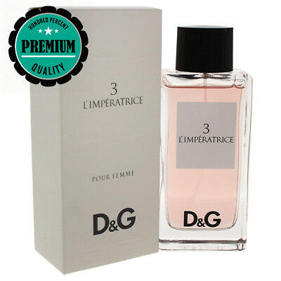 3 L'IMPERATRICE pour Femme EDT Spray By Dolce & Gabbana 100 ml