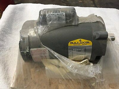 "NEW Baldor Electric Motor 1/2HP 115/208-230V RPM 3450, Single Phase, 5/8"" Shaft"