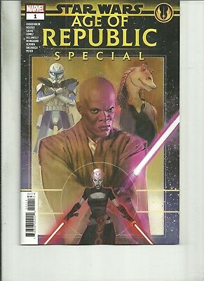 STAR WARS AGE OF REPUBLIC SPECIAL #1  Marvel Comics NM 2019