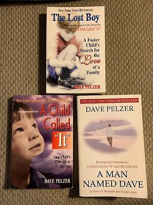 Pelzer. A Child Called It The Lost Boy A Man Named Dave And Help Yourself Bk LOT