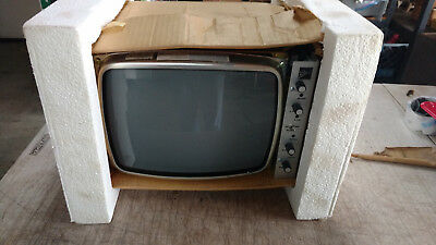 Vintage Ball Screen Monitor For Ge General Electric Vintage  Television Tv Te120