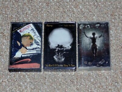 Lot of 3 Ministry Cassette Tapes The Mind is a Terrible Thing to Taste More