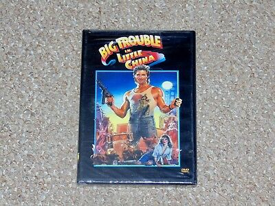 Big Trouble in Little China DVD 2002 Brand New John Carpenter Kurt Russell