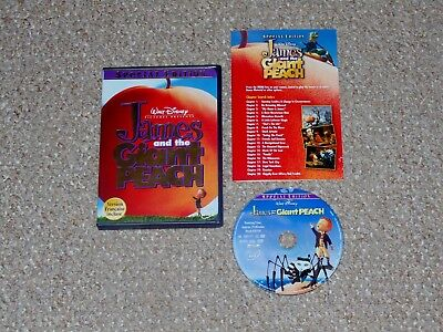Disney's James and the Giant Peach Special Edition DVD 2000 Complete Canadian