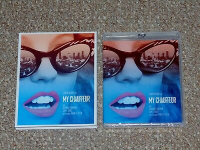My Chauffeur Blu-ray/DVD Combo Brand New with Slip Cover Vinegar Syndrome