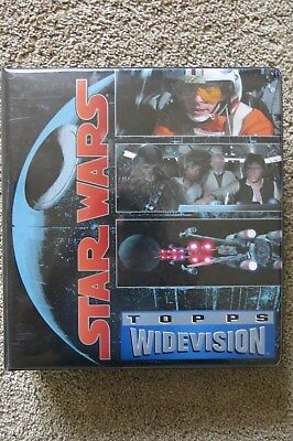 Star Wars Widevision Complete Card Sets Hope Empire Jedi In Official Binder 1994