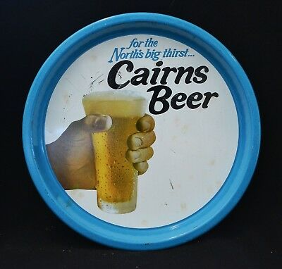 Cairns Beer Metal Vintage Tray Extremely Rare