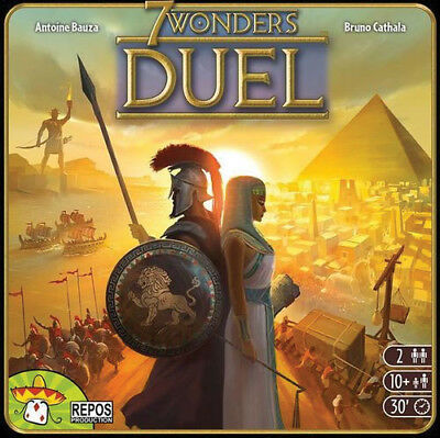 7 Wonders Duel Board Game Expansion New Sealed NIB Asmodee Editions Seven