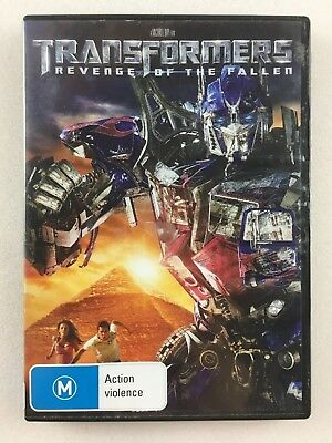 Transformers - Revenge Of The Fallen (DVD, 2009) Region 4