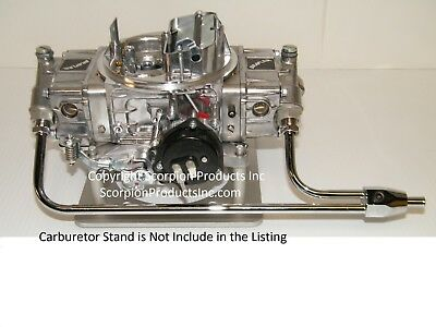 Holley QuickFuel 4 Barrell 650CFM Carburetor Electric Choke With Fuel Line/Gauge