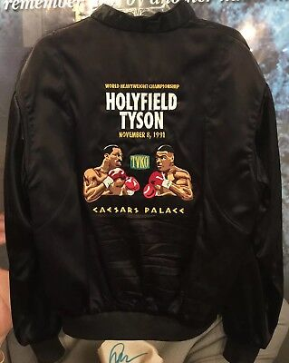 Mike Tyson & Evander Holyfield Official Jacket And Program