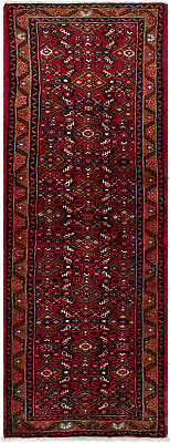"""Hand-knotted Persian Carpet 2'4"""" x 6'4"""" Persian Traditional Wool Rug"""