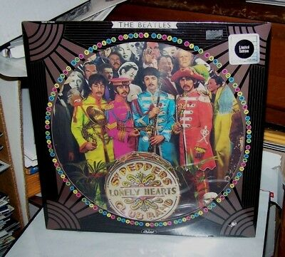"The Beatles ""sgt Peppers Lonely Hearts Club Band"" Picture Disc Lp 1978 - Sealed"