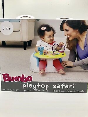 NEW Yellow Baby Activity Center Suction Tray 3m+ Playtop Safari Theme by Bumbo