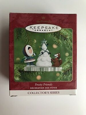 Hallmark Keepsake Ornament - Frosty Friends Eskimo #22 - 2001 - Mint in Box!