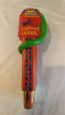 Kona Brewing Co. Long Board Lager Beer Tap Handle Small