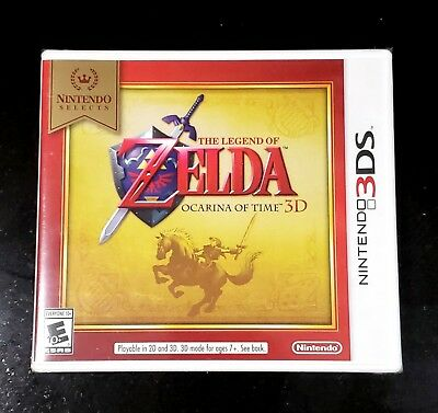 The Legend of Zelda: Ocarina of Time 3D - Nintendo 3DS - Brand New and Sealed