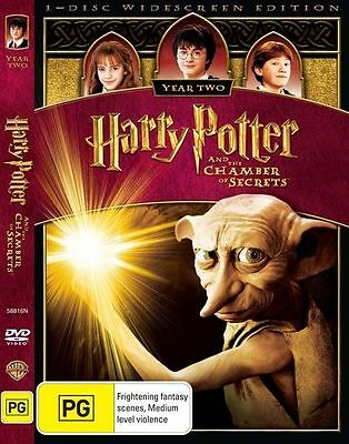 Harry Potter and the Chamber of Secrets (DVD, 2009)