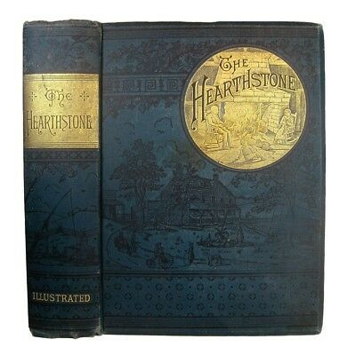 ANTIQUE COOKBOOK Rural Architecture 1886 VICTORIAN Home Life DOMESTIC Household