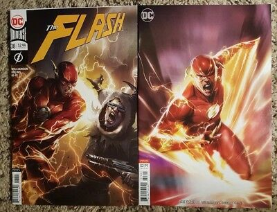 The Flash 38 48 Mattina Variants Dc Comics 2018 Nm