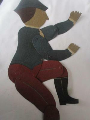 Vintage American Patriot  Shadowdancer Folk Art Ornament  by Edna Oar Young