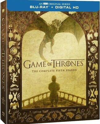 Game of Thrones: The Complete Fifth Season (Blu-ray & Digital Copy)