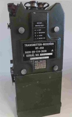 Excellent Condition Rt-350 / Prc-350 Clansman Vhf Manpack Transmitter-Receiver