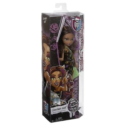 Monster High Freaky Field Trip Clawdeen Wolf Brand New In Box Cfc76