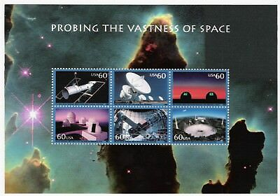 Sc 3409 PROBING the VASTNESS OF SPACE US Mint Stamp SHEET MNH