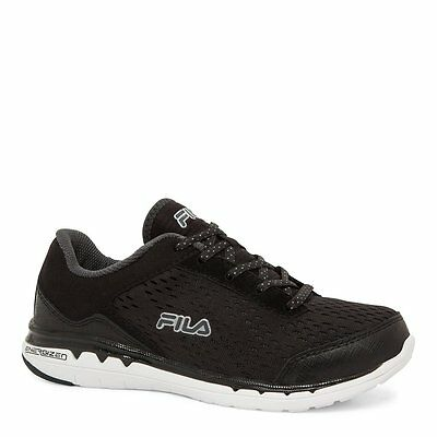NEW FILA WOMEN Cool Max Memory Foam Octave Energized Black