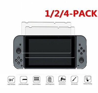 9H+ Real Premium Tempered Glass Screen Protector Film for Nintendo Switch 6.2inc