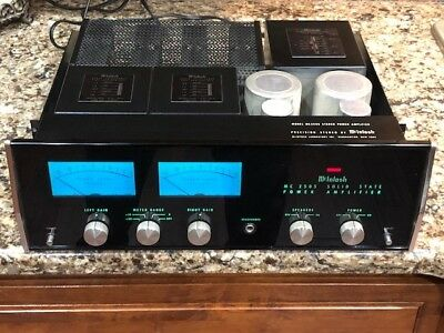 Vintage McIntosh MC-2505 Sold State Stereo Amplifier
