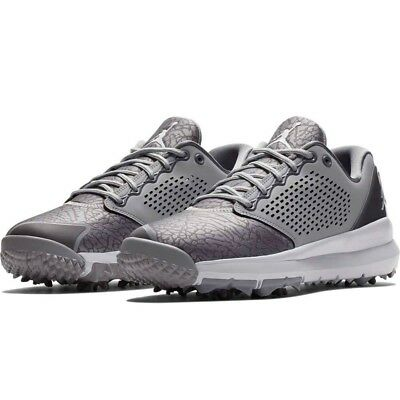 004ee026a1b6 BRAND NEW NIKE Men s Air Jordan Trainer ST G Golf Shoes AH7747 Grey ...
