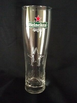 Heineken Nucleated Beer Glass NEW Style Brand New! 20oz.