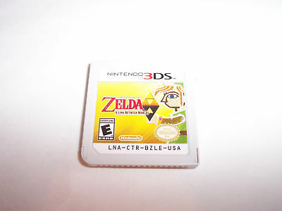 The Legend of Zelda: A Link Between Worlds (Nintendo 3DS, 2013) Game ONLY
