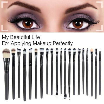 20tlg Professional Make Up Pinsel Set Kosmetik Schminkpinsel Brush Werkzeug