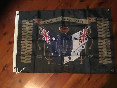 Banner veterans Poster printed man cave flag australian army navy Air Force RAN