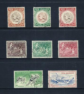 NEW ZEALAND _ 1955-57 'HEALTH' 3 SETS _ used ____(566)