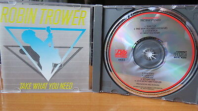 ROBIN TROWER Take What You Need CD ORG Atlantic 7 81838-2 Blues Rock