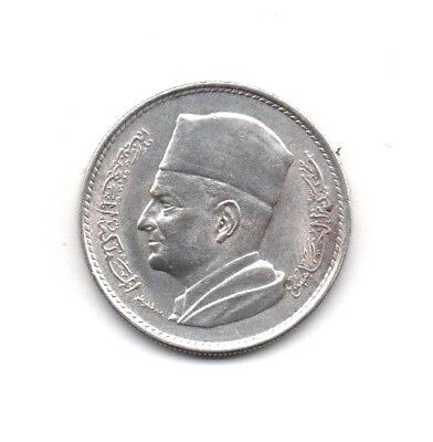 Morocco 1 Dirham 1380 - 1960 Select BU silver UNCIRCULATED