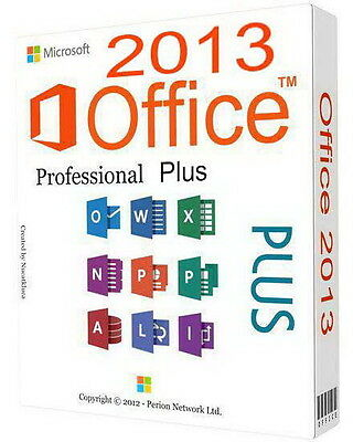 Microsoft Office 2013 Professional Plus Vl 32/64 Bit Esd - Originale Fatturabile