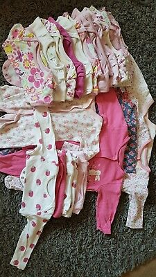 Sleepsuits and bodysuits Size 3-6 months