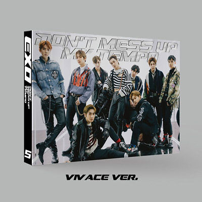 Exo 5Th Album [ Don't Mess Up My Tempo ] Vivace Ver. ~ New ~