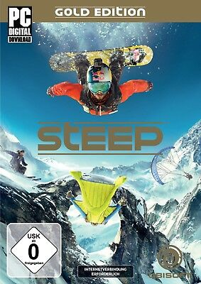 Steep - Gold Edition (PC, 2016 Nur der Uplay Key Download Code) Keine DVD, No CD