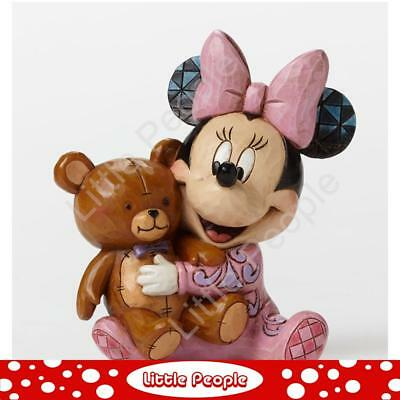 Jim Shore Bed Time Besties Baby First Minnie Figurine Disney Traditions