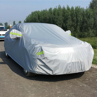 XL Heavy Duty Outdoor Waterproof Car Cover Lining Scratch Proof Protection