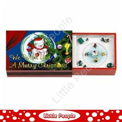 Mr Christmas Matchbox Melodies Animated Music Box We Wish You a Merry Christmas