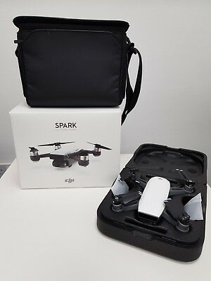 DJI Spark Fly More Combo Camera Drone - Arctic White
